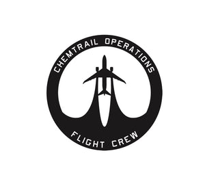 Chemtrail Operations Flight Crew Decal