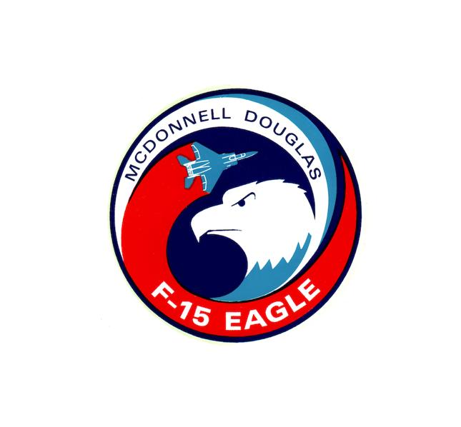 F15 Eagle Decal - F15 Sticker - USAF Decal-Military Decal-Aviation Decal-Aircraft Sticker-Aircraft Markings-Squadron Markings-Aviation Sticker-Military Aircraft Decal