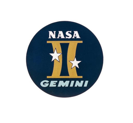 Gemini Program - Gemini Decal - Apollo Program - Apollo Decal - Apollo Sticker - NASA Decal-Nasa Insignia-Space Sticker-Military Decal-Aviation Decal-Aircraft Sticker-Aircraft Markings-Aviation Sticker-Military Aircraft Decal