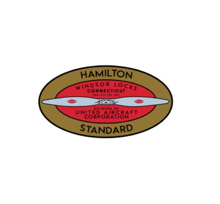 Hamilton Standard Sticker - Hamilton Standard Decal - Aviation logo - aviation history logo sticker - Vintage Airlines - Retro Airline Decal - Aviation Decal - Airline Decal -  Airlines sticker - Airways Company - Airline Logo Decal - Aircraft sticker