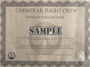 Chemtrail Flight Crew Cap