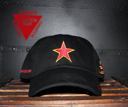 USN Fighter Squadron Composite VFC-13, Top Gun Cap, Bogey, Mig Cap, Aggressors Cap, USN Baseball Cap, Adversary Baseball Capo, Top Gun Baseball Cap, Aviation Baseball Capo, Crew Cap, Aviation Clothing, Red Star, MiG Cap, Sierra Hotel Aeronautics , Fighter pilot cap, US Navy Cap