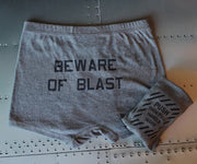Beware of Blast Underwear