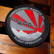 Rubber Dogshit Transport Division Flight Crew Patch