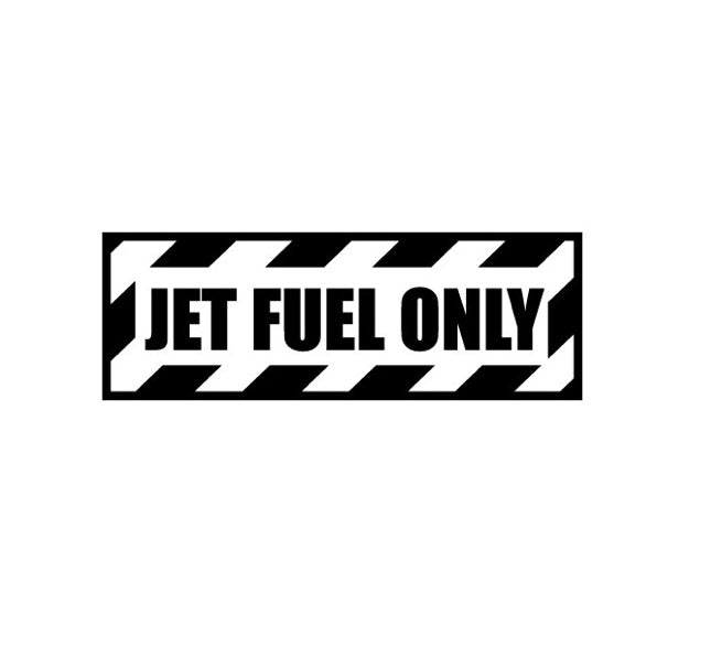 Military Decal-Aviation Decal-Aircraft Sticker-Aircraft Markings-Aviation Sticker-Military Aircraft Decal- Jet Fuel Only Decal