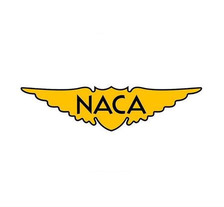 The National Advisory Committee for Aeronautics (NACA) - NACA Decal - Aviation Decal - Test Pilots -Military Decal - Aircraft Sticker - Edwards AFB Decal