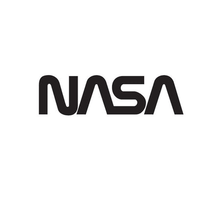 NASA Worm Logo-NASA Decal-Nasa Insignia-Space Sticker-Military Decal-Aviation Decal-Aircraft Sticker-Aircraft Markings-Aviation Sticker-Military Aircraft Decal