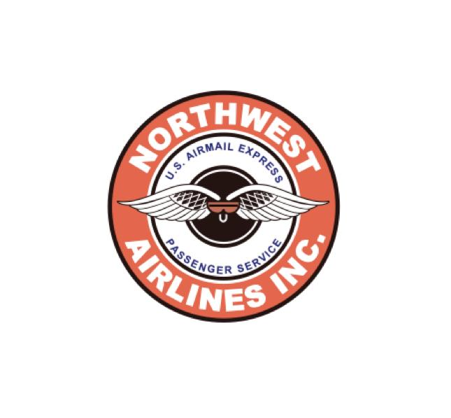 Northwest airlines logo - Northwest Airlines Sticker - Northwest Airlines decal - Retro Aviation Logo - Retro Aviation Sticker - Retro Airline Sticker - Retro Airline Decal - Aviation Decal - Aircraft marking - Aviation Stickers - Aviation Collectables