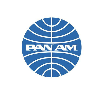 Pan Am - Pan American World Airways - Retro Aviation Decal - Retro Airline Logo - Aviation Decal-Aircraft Sticker-Aircraft Markings-Aviation Sticker-Military Aircraft Decal-Airline Logos-Airline Markings  Edit alt text