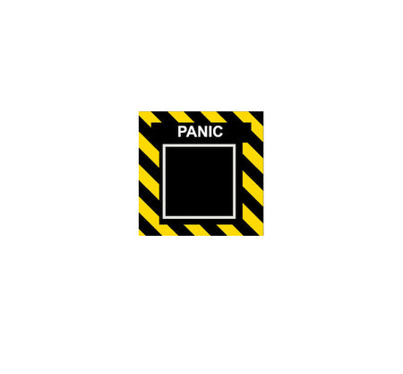 Panic Button-Funny Decal-Military Decal-Aviation Decal-Aircraft Sticker-Aircraft Markings-Aviation Sticker-Military Aircraft Decal