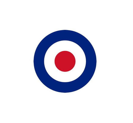 RAF Decal-Royal Air Force Decal-Military Decal-Aviation Decal-Aircraft Sticker-Aircraft Markings-Aviation Sticker-Military Aircraft Decal