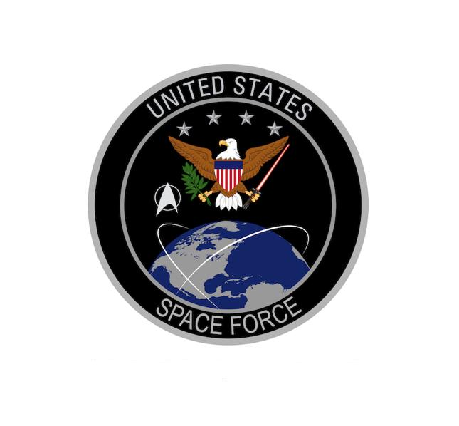 Space Command - Space Force - US Space Force - US Space Command - Star Wars Decal - Star Trek Decal - Space Decal - Nasa Decal - Military Decal - Aviation Decal - USAF Decal - Funny Decal - Aviation Decal - Aircraft Sticker
