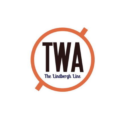 TWA Decal - TWA Sticker - Lindbergh Line Decal - Retro Aviation Logo - Retro Aviation Sticker - Airline Stickers - Aviation Sticker - Airline Decal - Aviation Collectables - Aircraft Markings