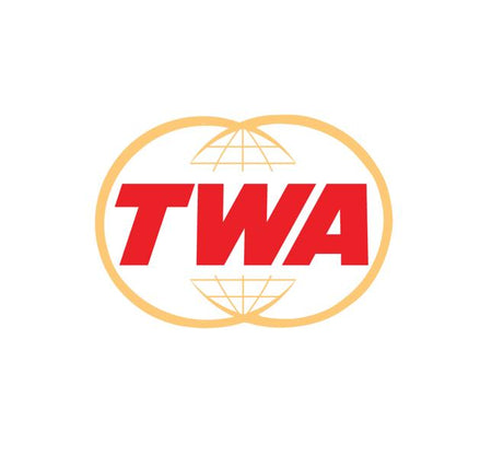 TWA Airlines Logo -Trans World Airlines - Retro Aviation Decal - Retro Airline Logo - Aviation Decal-Aircraft Sticker-Aircraft Markings-Aviation Sticker-Aircraft Decal-Airline Logos-Airline Markings