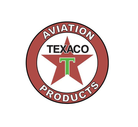 Retro Aviation Stickers - Aviation History - Texaco Aviation Products - Texaco Aviation - Retro Aviation Decal - Retro Airline Logo - Aviation Decal-Aircraft Sticker-Aircraft Markings-Aviation Sticker-Aircraft Decal-Airline Logos-Airline Markings