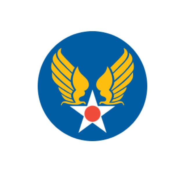 United States Army Air Forces - AAF - WW2 Decal - Aviation Decal - Air Force Decal - Military Decal -USAF Decal - Aircraft Marking - USAF Sticker