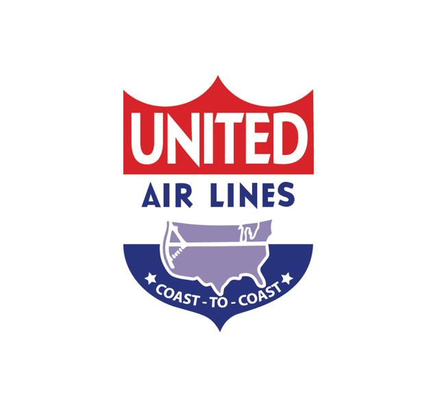 Vintage Airline Logo - United Vintage Logo - United Airlines Retro Decal - United Airlines Vintage Decal - United Air lines Retro Logo - Retro Aviation Decal - Retro Airline Logo - Aviation Decal-Aircraft Sticker-Aircraft Markings-Aviation Sticker- Aircraft Decal-Airline Logos-Airline Markings
