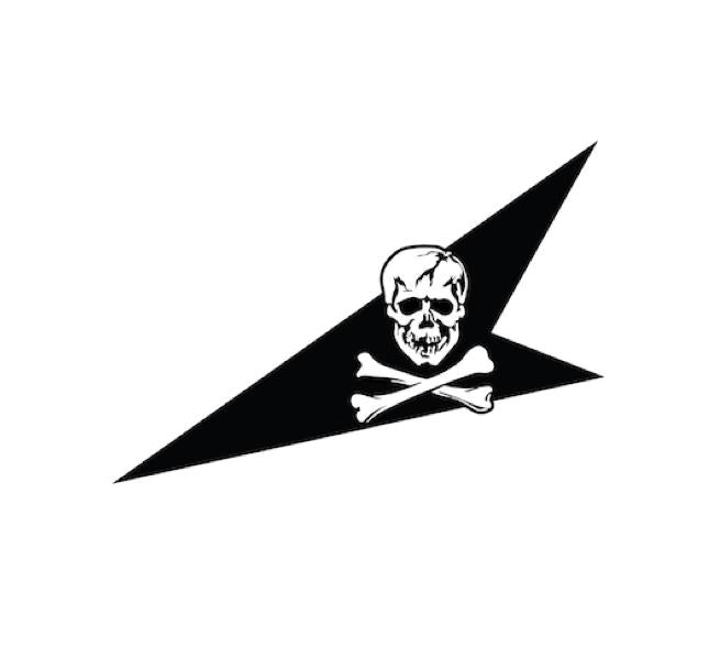VF84 Jolly Rogers-USN Squadron-Skull and Bones Decal-Jolly Roger Decal-Military Decal-Navy Decal-USN Decal-Squadron Decal-Aircraft Marking-Aviation Sticker-Aviation Decal-VF143 Decal-Squadron Decal-USN Decal-aircraft markings