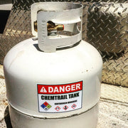 Warning! Chemtrail Tank