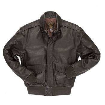 A2 Jacket-USAF Jacket-Fighter Pilot Jacket-WW2 Jacket- Reissue A2 Jacket