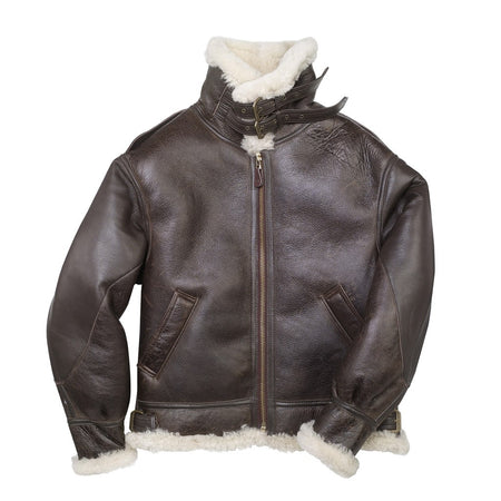 "The General"" B-3 Bomber Jacket, B-3 Bomber Jacket, Shearling Bomber Jacket, Pilot Jacket, WW2 Jacket, Bomber Crew Jacket, Pilot Jacket, Flight Jacket"