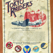 Tokyo Raiders A2 Jacket-Flight Jacket-Bomber Jacket-WW2 Jacket- Doolittle Raid Jacket-Leather Flight Jacket