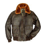 U.S. Navy Lambskin G-1 Flight Jacket, USN Jacket, Fighter pilots jacket, Aviator jacket, Leather flight jacket, Military Jacket, WW2 Jacket, Leather jacket