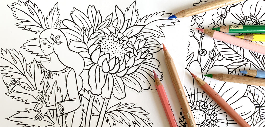 Coloring Pages | A free printable