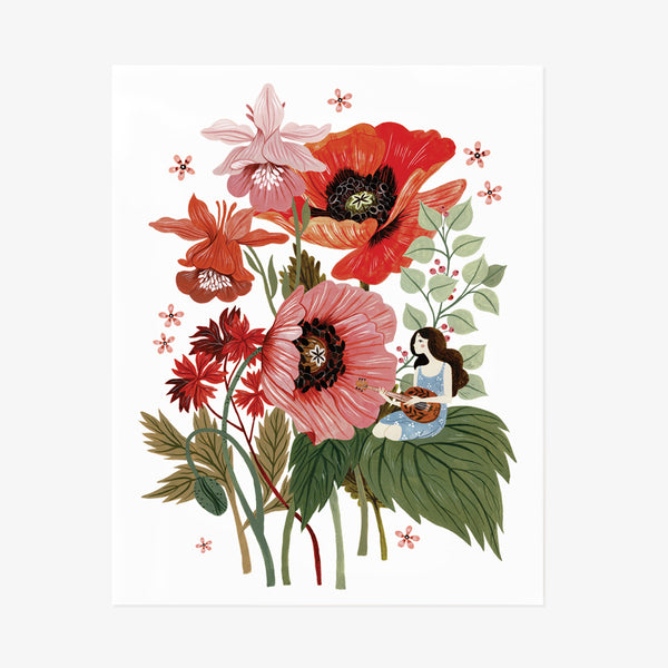 NOTES IN BLOOM | Giclée Art Print