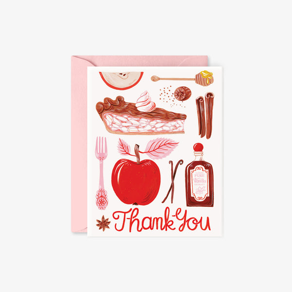 Apple Pie | Thank You card