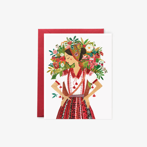 Flower Girl | card