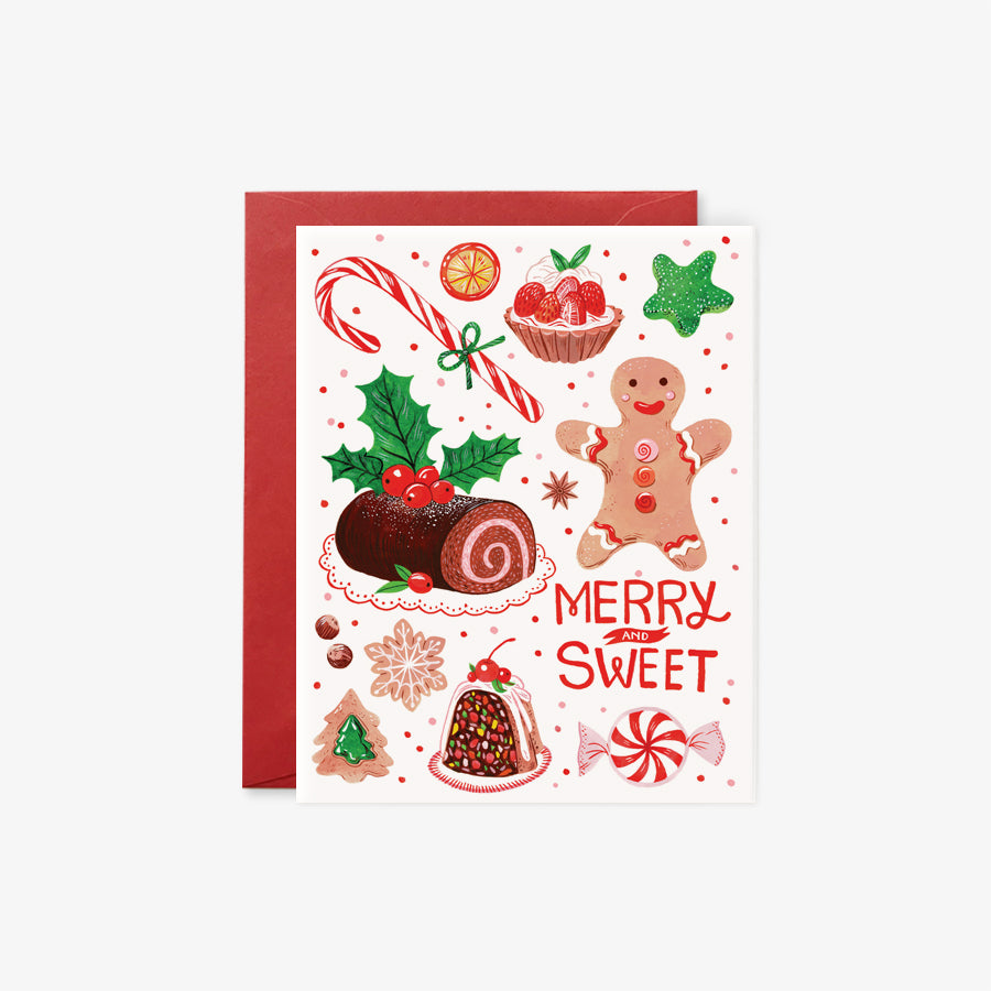 Merry & Sweet | holiday card