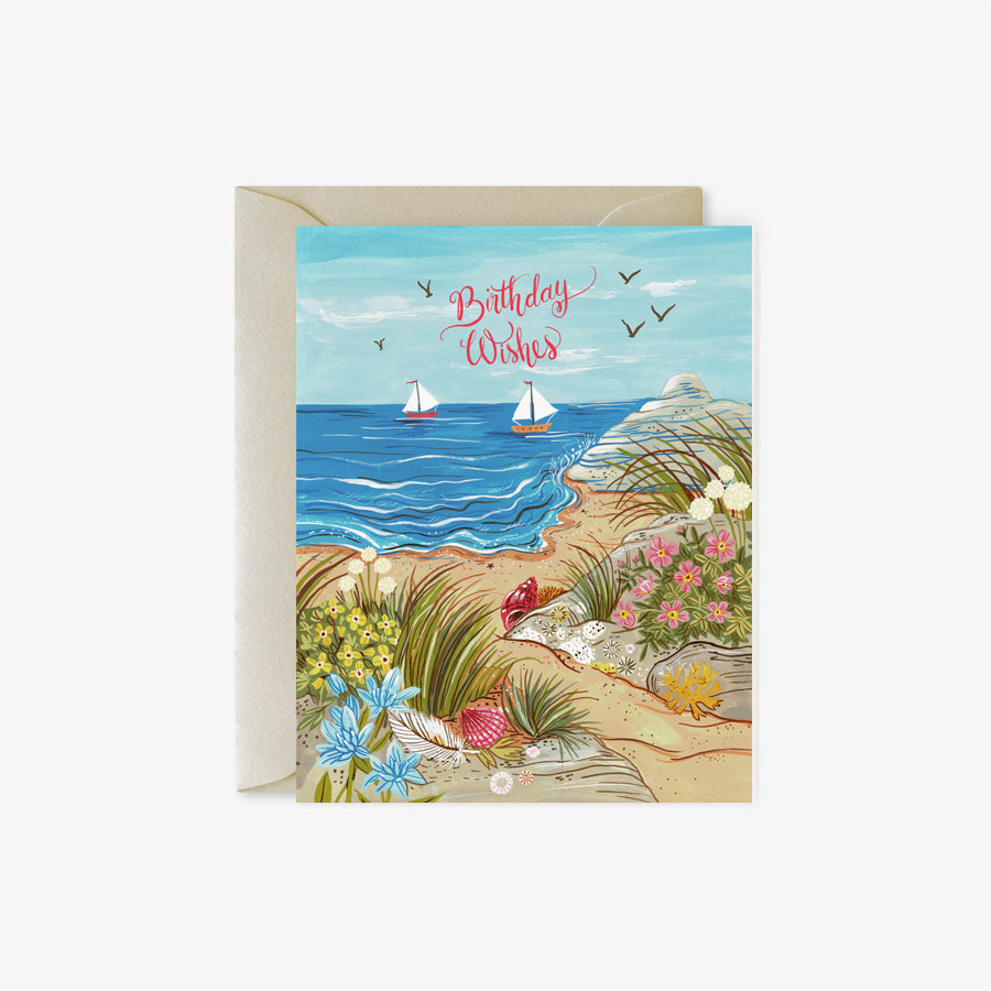 Beach Path | Birthday card
