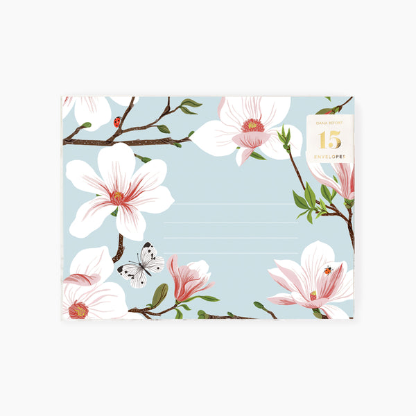 MAGNOLIA Envelopes | Boxed set of 15