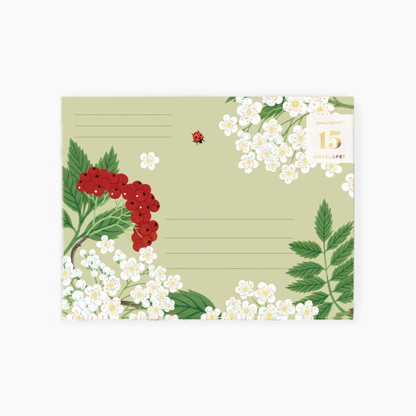 MOUNTAIN ASH Envelopes | Boxed set of 15