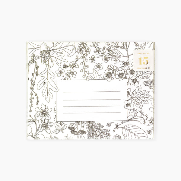 TREE BLOOMS Envelopes | Boxed set of 15