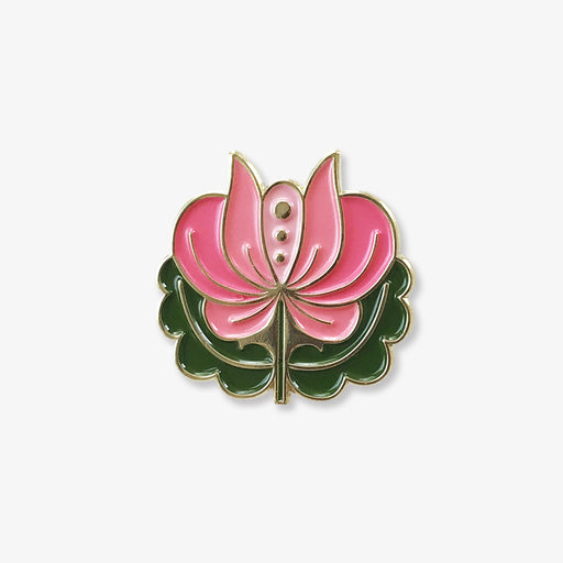 Folk Flower | Enamel Pin