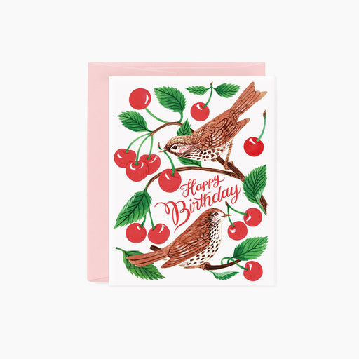 Cherry thieves | Birthday Card