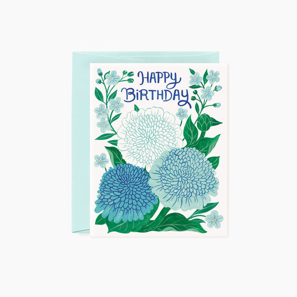 Zinnia | Birthday card