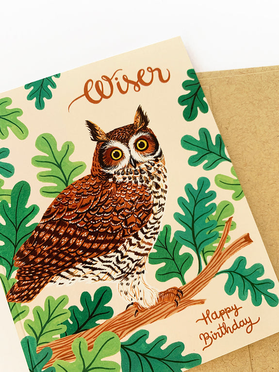 WISER | Birthday Owl