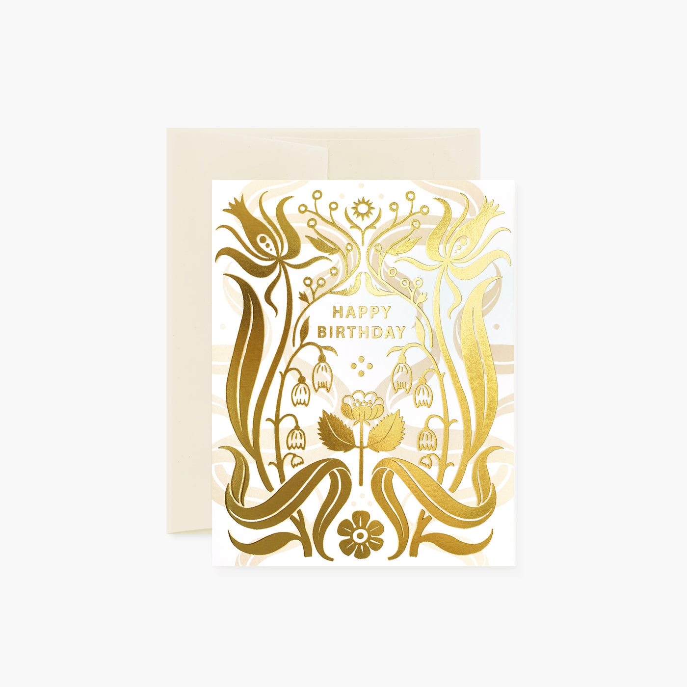 DECO Birthday | gold foil