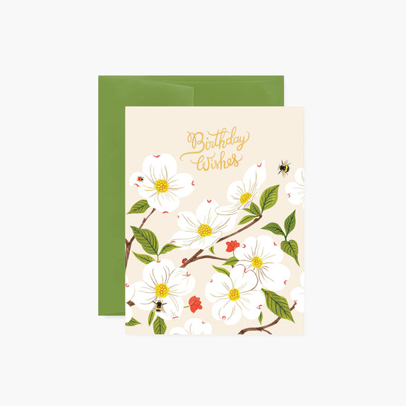 DOGWOOD Birthday Card