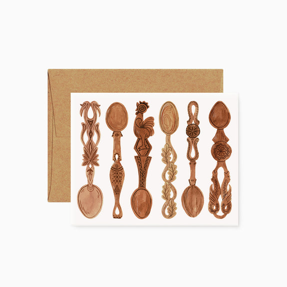 Wooden Spoons | card