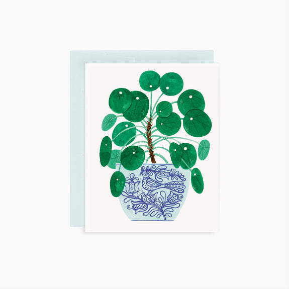 PILEA POT card
