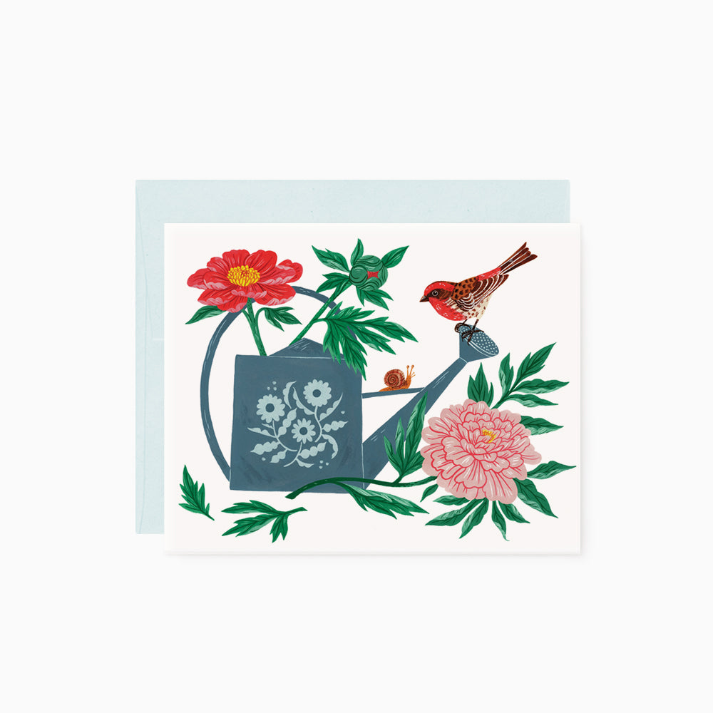 Watering Can | greeting card