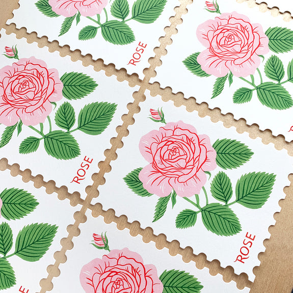 ROSE | Die-Cut Card