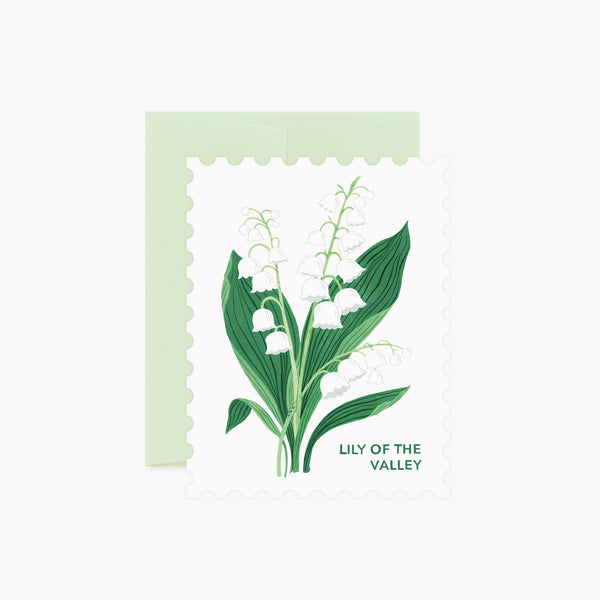 LILY OF THE VALLEY | Die-Cut Card
