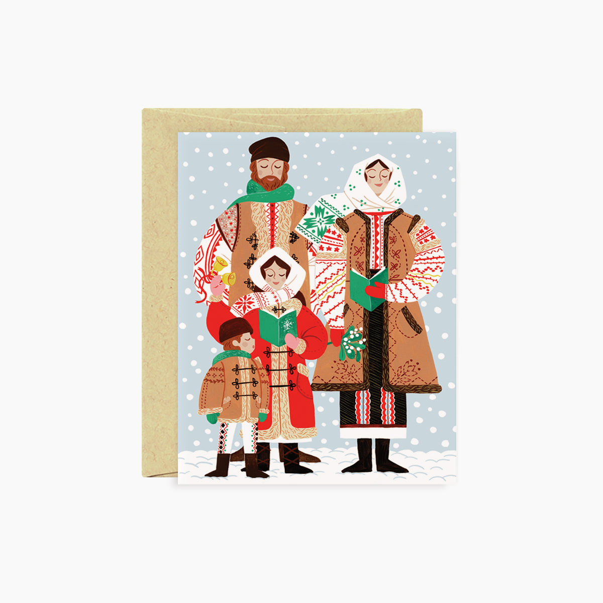 CAROLERS | holiday card