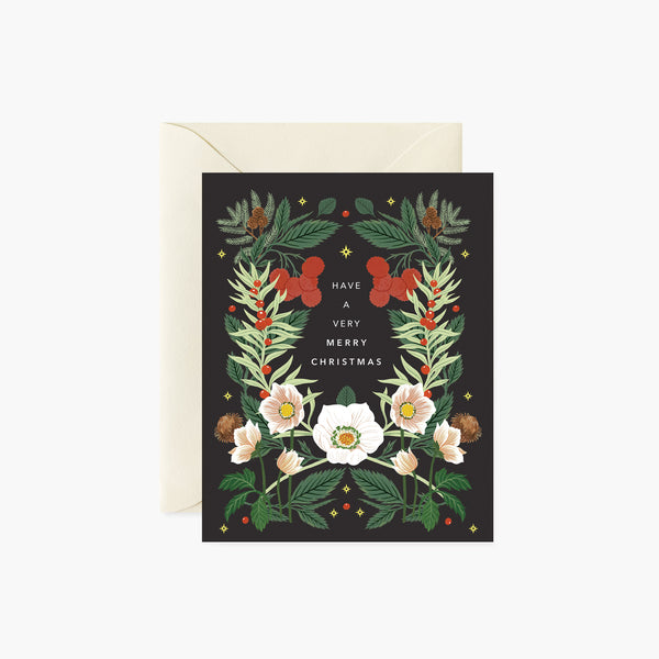 Christmas Rose |  Holiday Card