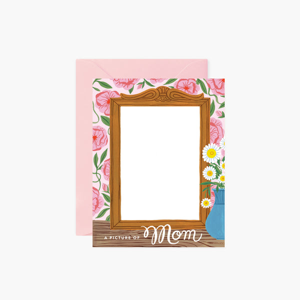 A Picture Of Mom card